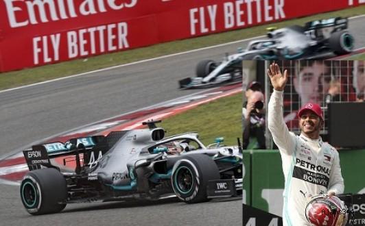 1000. yarışı Hamilton kazandı
