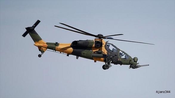 3 Atak helikopteri daha TSK'da