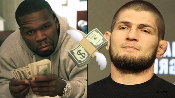 50 Cent'ten Nurmagomedov'e dev teklif!