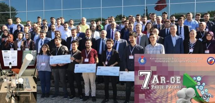 7. Ar-Ge Proje Pazarı Yarışması'nda Ödüller Sahibini Buldu