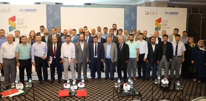 7. Sosyal Uyum Çalıştayı Kahramanmaraş'ta Gerçekleştirildi