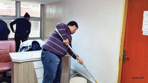 Adliyenin UYAP faresi belediye personeli çıktı