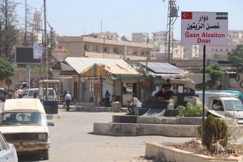 Afrin'de bulvarlara Tayyip Erdoğan ve Zeytin Dalı isimleri verildi