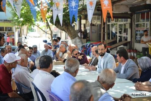 Ak Parti Milletvekili Adayı Sezal Türkoğlu'nda