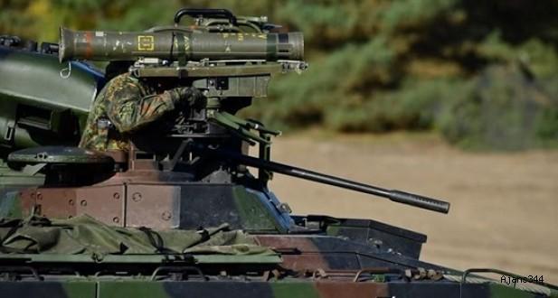 Alman hükümetinden Türkiye'ye yeni silah izni