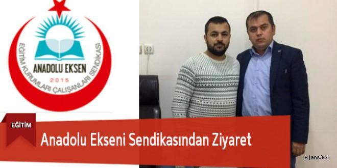 Anadolu Ekseni Sendikası'ndan Kent Göksun'a Ziyaret