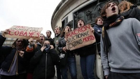 Avrupada gösteriler durulmuyor