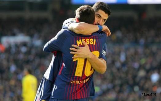 Barcelona Deplasmanda Real'i Devirdi: 0-3