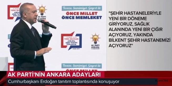 Başkan Erdoğan adayları açıklıyor