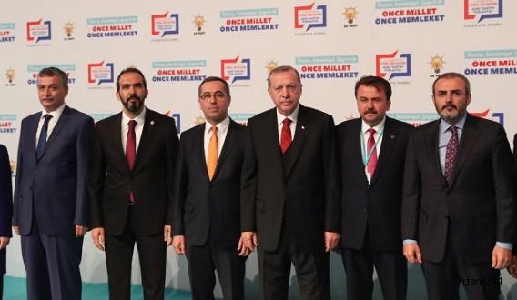 Başkan Erdoğan AK Parti adaylarını açıkladı