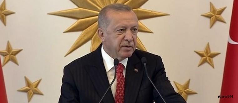 Başkan Erdoğan'dan ABD'ye güvenli bölge mesajı