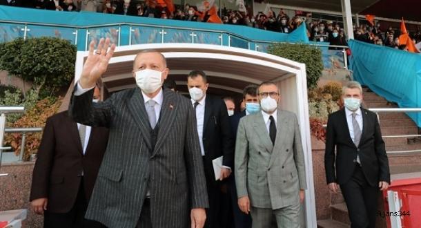 Başkan Erdoğan Kahramanmaraş'ta Edeler'e seslendi