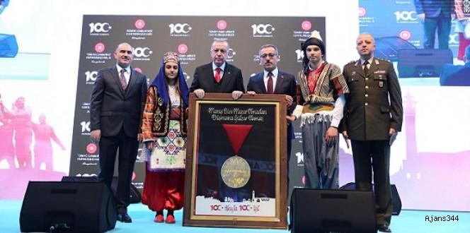 Başkan Erdoğan Kahramanmaraş'tan ayrıldı