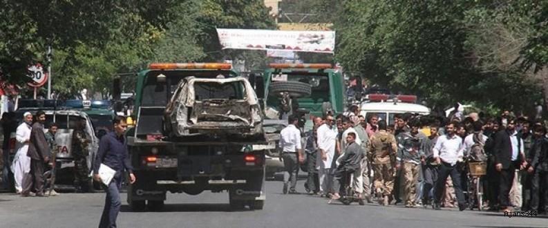 Bombalı intihar saldırısı: 3 NATO askeri öldü