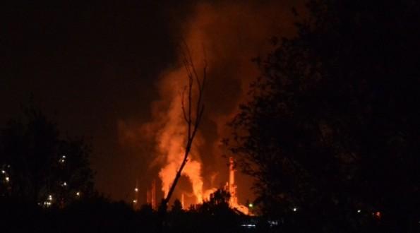 Bosna Hersek'te petrol rafinerisinde patlama