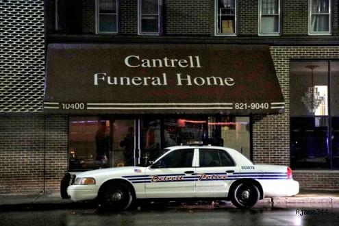 Cenaze evinde dehşet