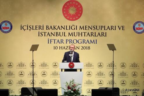 Cumhurbaşkanı Erdoğan'dan vatandaşa 'sandık' çağrısı