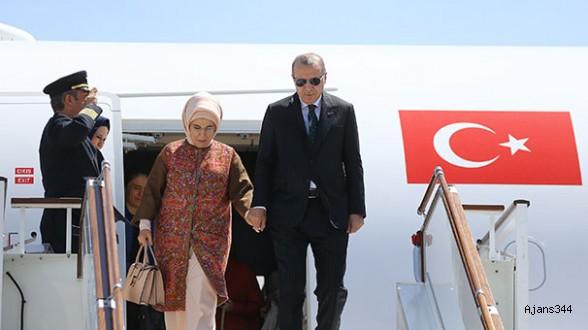 Cumhurbaşkanı Erdoğan Güney Kore'ye uçtu