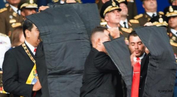 Devlet Başkanı Maduro'ya suikast girişimi