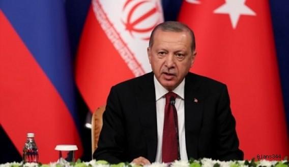 Erdoğan: Bu işin ortağı da, seyircisi de olmayız!