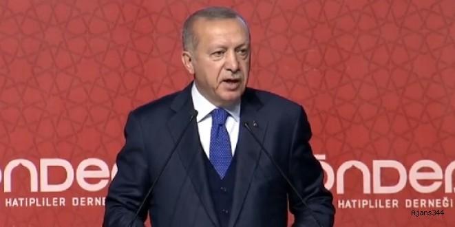 Erdoğan'dan SP liderine Çamlıca Camii yanıtı