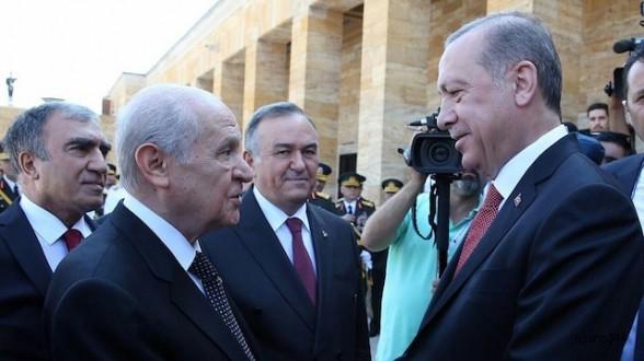 Erdoğan ve Bahçeli ortak mitingi Ankara'da yapacak