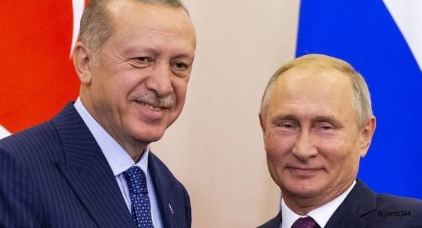 Erdoğan, zirve sonrası Putin ile başbaşa görüştü