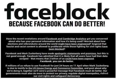 Facebook, WhatsApp ve Instagram'a boykot