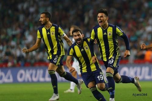 Fenerbahçe'nin Elmas'ı Var: 1-0