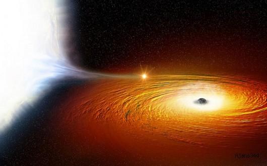 Galaksimizin Tam Ortasında Devasa Bir Kara Delik!