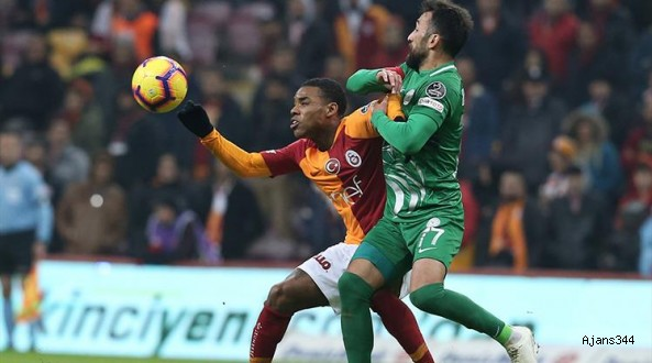 Galatasaray'a soğuk duş: 2-2