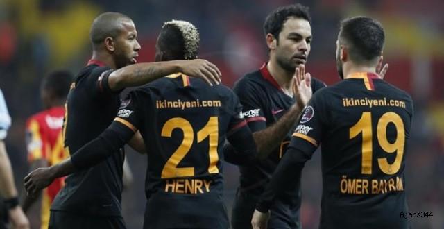 Galatasaray nefes aldı: 0-3