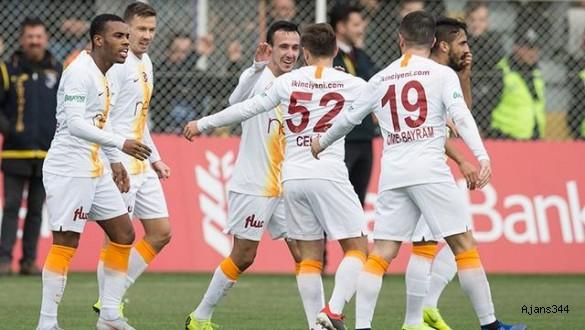 Galatasaray turu araladı: 1-2