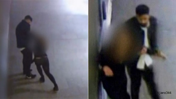 Genç kadını sürükleyip tecavüz etti