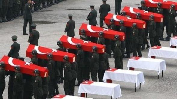 Dağlıcada 16 Asker Şehit