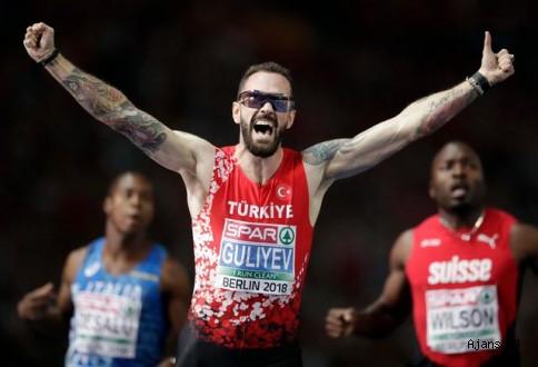 Guliyev rekorla Avrupa şampiyonu oldu