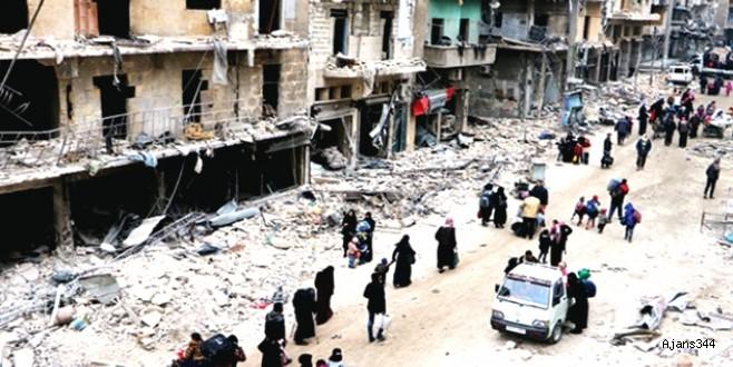 Guta'da Hava Saldırısı: 30 sivil öldürüldü