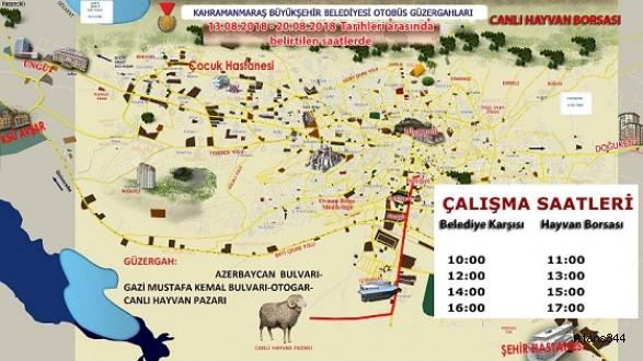 HAYVAN BORSASI'NA OTOBÜS SEFERİ
