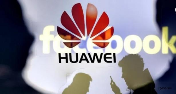 Huawei'ye bir darbede Facebook'tan