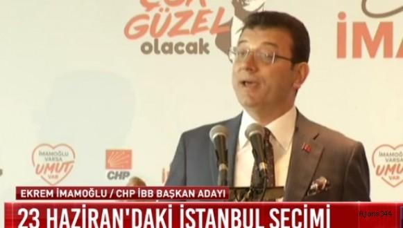 İmamoğlu İstanbul için vaatlerini açıkladı