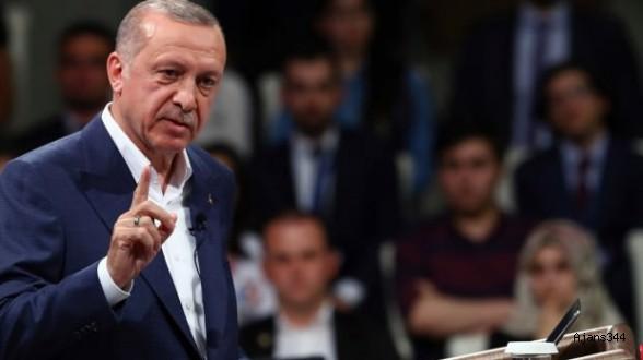 İnce'nin köyünde Erdoğan fark attı