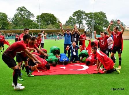 İşitme Engelliler Milli Takımı Avrupa Şampiyonu