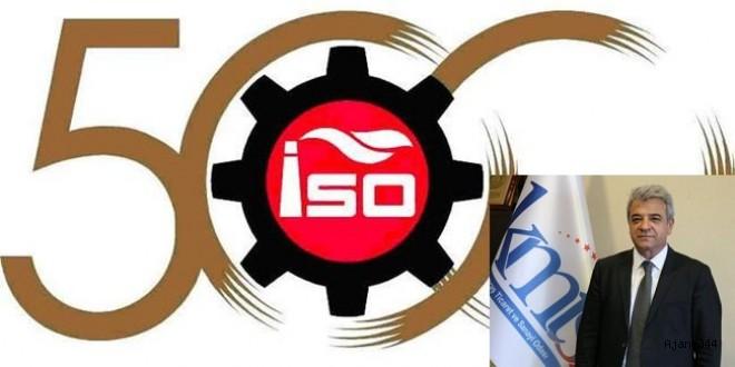 İSO 500'DE KAHRAMANMARAŞ'TAN 10 ŞİRKET