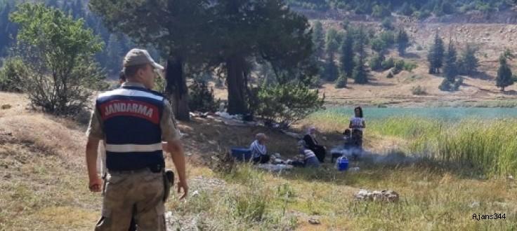 Jandarmadan piknikçilere 'yangın' uyarısı!