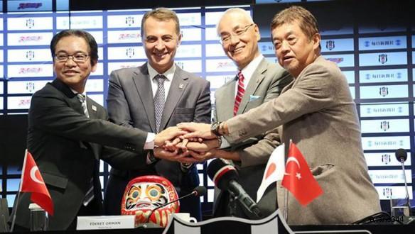 Japon deviyle 10 milyon euroluk anlaşma