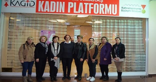 Kadın Platformu'ndan Özdemir'e Destek