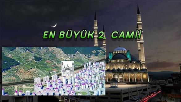 Kahramanmaraş'ın en büyük ikinci camiisi olacak