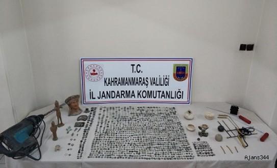 Kahramanmaraş'ta 1587 Parça Tarihi Eser Yakalandı!