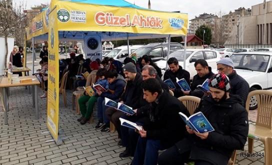 """Kahramanmaraş'ta """"Birlikte Kitap Okuma Etkinliği"""""""