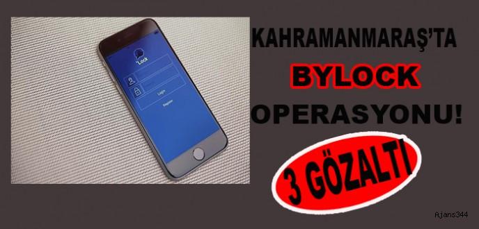 Kahramanmaraş'ta ByLock Operasyonu